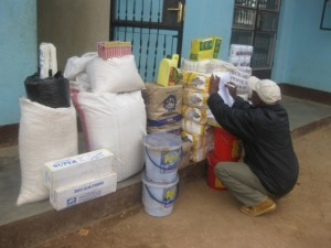 Donation of Food to Rafiki Childcare Center