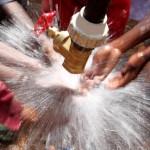 Rafiki Water Spray Tanzania Africa