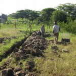Orphans Foundation Fund Construction on the Njiro property