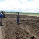 Rafiki farm freshly plowed by the tractor